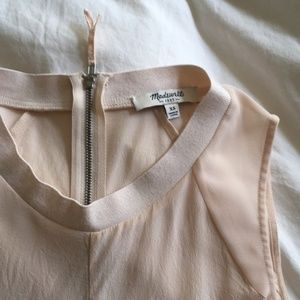 Dusty Rose Silk Tank Top